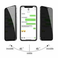 For iPhone 11 pro X XR XS MAX 8 Anti Spy Privacy Tempered Glass Screen Protector