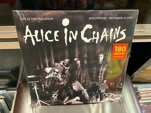Alice In Chains Live At the Paladium Hollywood 1992 LP 180 g COLOR wax SEALED