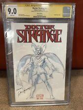 Doctor Strange 1 CGC Sketch cover Rudy Nebres