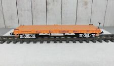 LGB / WILSON BROS. COMBINED SHOWS / FLAT CAR FOR CIRCUS WAGONS (107)
