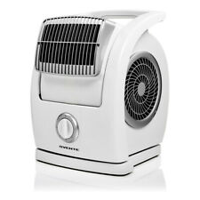 Ovente Cool Breeze Electric Floor Fan 3Speed Control Low Noise Motor White BF74W