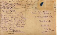 Family History Postcard - Giles - Underhill Road - Dulwich - London - Ref 2162A