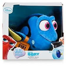 "New Disney Store Finding Dory 14"" Talking Dory Plush Stuffed Doll Toy Pixar"