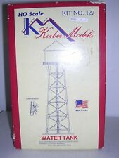 "KORBER MODELS #127  69' Era 1930 Water Tank ""Black"" - Building Kit  H.O. 1/87"