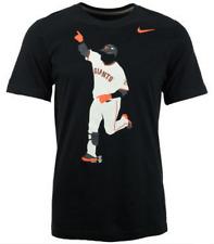 Nike San Francisco Giants Retro Hero Silhouette Heritage shirt MLB baseball men