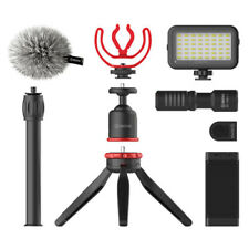 BOYA Vg350 Smartphone Kit With Microphone LED Light Tripod and Phone Clamp