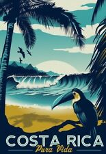 A3 Glossy Poster - Travel Poster - Costa Rica