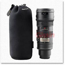 Neoprene Soft DSLR Camera Lens Protector bag Pouch Case Size:XL Ø 95mm x H 225mm