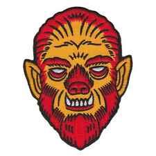 Kustom Kreeps Creepy Wolfman Iron On Patch Punk Rockabilly Horror Embroidered
