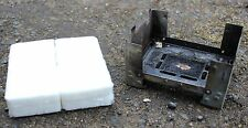 GERMAN ARMY CAMPING HEXI ESBIT COOKER FOLDING STOVE WITH FUEL