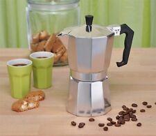 Gravidus 6-Tassen Aluminium Espressokocher
