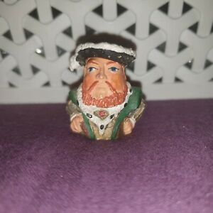 Henry VIII Thimble Pewter Stephen Frost Warwick Models Flip Hat Hinge