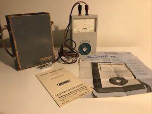 Vintage Megger Tester-BM6 Battery 'Megger' Tester