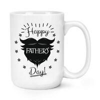 Happy Father's Day Beard 15oz Large Mug Cup - Funny Dad Joke