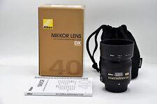 Nikon 40mm F/2.8 G AF-S DX Nikkor Macro Prime Lens