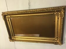 Antique Mirror Gilded Oak Frame, Beautiful.C12pics4size/etc.Ships $79.MAKE OFFER