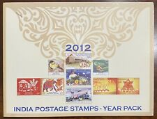 INDIA POSTAGE STAMPS - COLLECTOR'S YEAR PACK 2012 (46 STAMPS)