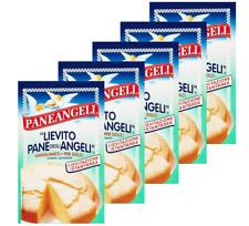 4 Packs PANEANGELI Vanilla Flavoured Raising Agent LIEVITO Vaniglinato 4x16g