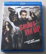Shoot Em Up [Blu-ray] LIKE NEW, FREE SHIPPING!!