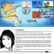 5 MARCH 2002 OCCASIONS BENHAM FIRST DAY COVER HAND SIGNED BY FERN BRITTON