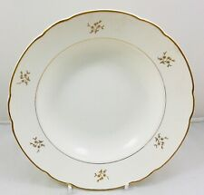 Villeroy & Boch vintage cream with gold thistle ? - rimmed bowls 23.5cm