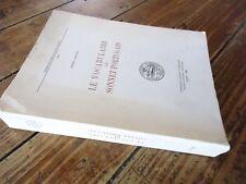 LE VOCABULAIRE DU SONNET PORTUGAIS - POESIE LITTERATURE 1986