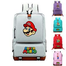 Super Mario Bros. Travel Backpack Student School Bag Laptop Bag Shoulder Bag