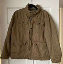 Levi's  Military Style Jacket Men Cotton Medium M Quilted Lining Great Condition