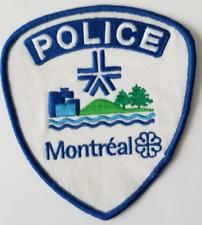MONTREAL QUEBEC CANADA Cloth Patch