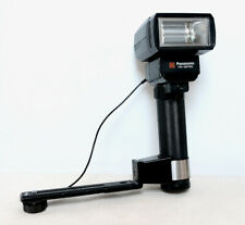 Vintage PANASONIC PE-381SG Japan Flash Unit With Bracket for film Camera SLR