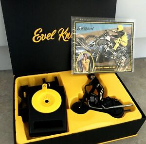EVEL KNIEVEL PRO SERIES Stunt Cycle Black Outfit LIMITED EDITION New Sealed EVIL
