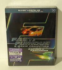 Fast & Furious: 6 Movie Collection + 7 (Blu-ray Disc, 6-Disc Set) NEW The And
