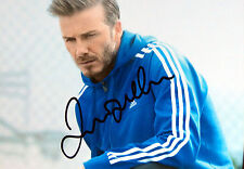 David Beckham + + AUTOGRAFO + + legenda di calcio