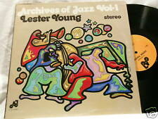 LESTER YOUNG Archives of Jazz Kenny Drew Aaron Bell LP