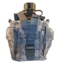 New Molle ACU Canteen Carrier / Utility Pouch w/ New 1 Quart Canteen