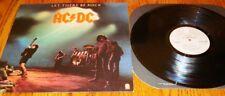 AC/DC LET THERE BE ROCK ORIGINAL LP