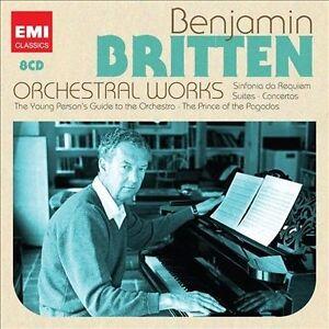 Britten: Orchestral Works, Various Artists, Good Box set