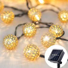Solar Outdoor String Lights,Betus Moroccan globe Waterproof LED Fairy Lights