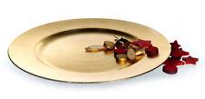 Platzteller Dekoteller 33 Cm Gold Teller -look Unterteller
