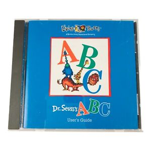 Dr. Seuss's ABC Living Books CD Rom 1995 Vintage PC Software With CD Booklet