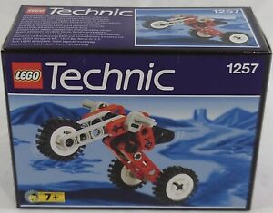Lego 1257 Technic Riding Cycle Tricycle Brand New Sealed 1999 Retired Set