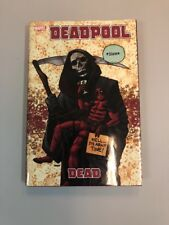 Deadpool Dead Hardcover Book Graphic Novel GN first Printing 2012