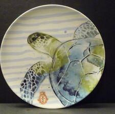 "Home Item- 6"" Sea Turtle Stoneware Plate- Oven, microwave, dishwasher-Wholesale"