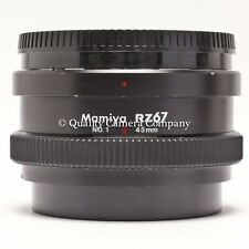 Mamiya RZ67 No. 1 45mm Auto Extension Tube - #1 CLOSE-UP TOOL TO USE YOUR LENSES