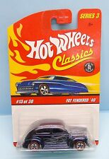 2581 HOT WHEELS  / CARTE US / HW CLASSICS 2006 / FAT FENDERED 40 1/64