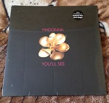 """Madonna Very Rare You'll See 12"""" Lp Vinyl USA Single Sealed New Limited Edition"""
