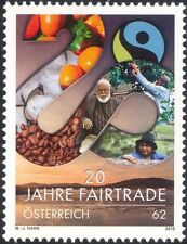 Austria 2013 Fairtrade Anniversary/Coffee/Food/Farmers/Plants/Nature 1v (at1271)