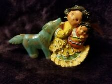 "Retired 1996 Enesco ""Little One To Lean On"" Friends Of The Feather Figurine"
