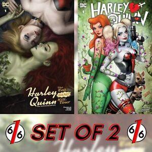 🚨🔥 HARLEY QUINN POISON IVY SET EAT BANG KILL TOUR #1 COHEN & SZERDY #1