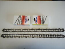 """2 New Carlton Full Chisel .325 .050 66 Drive Links 16"""" Chainsaw Chain USA MADE"""